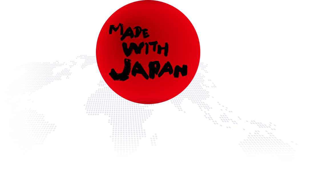 MADE WITH JAPAN