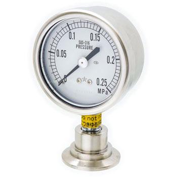 PG サニタリー圧力計