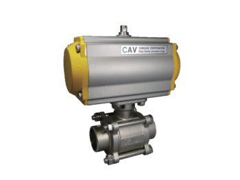 CSH-BS アクチュェーター付ハイグランド突合せ溶接ボールバルブ
